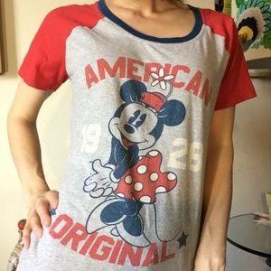 Disney Tops - Disney Minnie Mouse American Original 1928